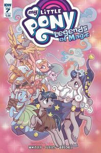 [My Little Pony: Legends Of Magic #7 (Cover B Hickey) (Product Image)]