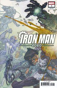 [Iron Man: 2020 #1 (Bianchi Connecting Variant) (Product Image)]
