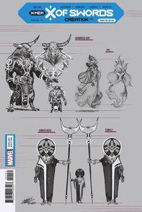 [X Of Swords: Creation #1 (Larraz Design Variant) (Product Image)]