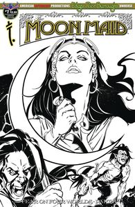 [Moon Maid #1 (Black & White Limited Edition Cover) (Product Image)]