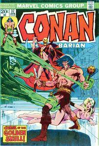 [True Believers: Conan Curse Of Golden Skull #1 (Product Image)]