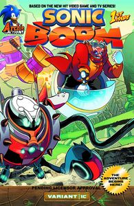 [Sonic Boom #1 (Here Comes The Boom Part 3 Variant Cover) (Product Image)]