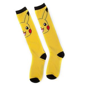 [Pokemon: Kneehigh Socks: Pikachu (Product Image)]