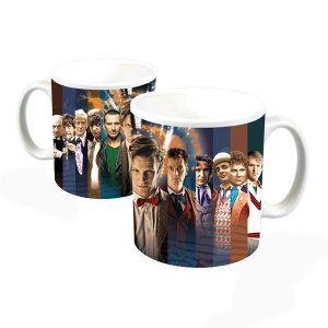 [Doctor Who: Mug: Doctors Regeneration Montage (Product Image)]