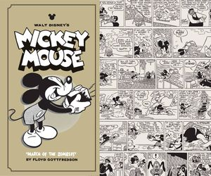 [Disney's Mickey Mouse: Volume 7: March Of Zombies (Hardcover) (Product Image)]