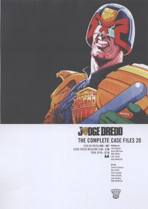 [2000AD: Judge Dredd Complete Case Files: Volume 20 (Product Image)]