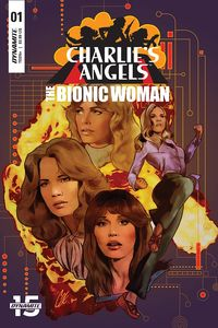 [Charlies Angels Vs Bionic Woman #1 (Cover A Staggs) (Product Image)]