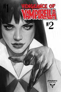 [Vengeance Of Vampirella #2 (Oliver Black & White Variant) (Product Image)]