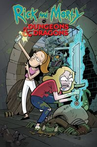 [Rick & Morty Vs Dungeons & Dragons #2 (Cover A - Little Variant) (Product Image)]