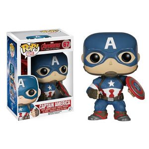 [Marvel: Avengers: Age Of Ultron: Pop! Vinyl Bobble Figure: Captain America (Product Image)]