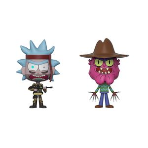 [Rick & Morty: VYNL Figures: SEAL Rick & Scary Terry (2 Pack) (Product Image)]