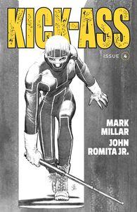 [Kick-Ass #4 (Cover B Black & White Romita Jr) (Product Image)]