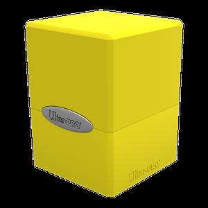 [Satin Cube: Deck Box (Lemon Yellow) (Product Image)]