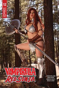 [Vampirella/Red Sonja #12 (Cover D Nova Cosplay) (Product Image)]
