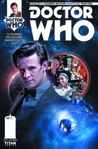 [Doctor Who: 11th: Year 2 #4 (Brooks Subscription Photo) (Product Image)]