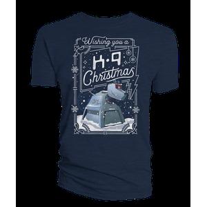 [Doctor Who: Flashback Collection: T-Shirt: K9 & Christmas (Product Image)]