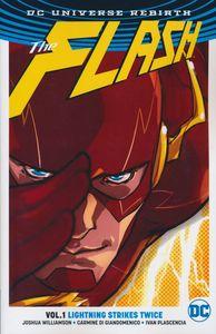 [Flash: Volume 1: Lightning Strikes Twice (Rebirth) (Product Image)]
