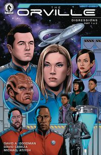 [The cover for Orville: Digressions #1]