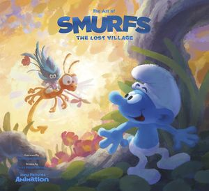 [The Art Of The Smurfs: The Lost Village (Hardcover) (Product Image)]