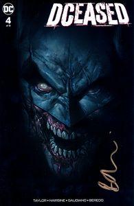 [DCeased #4 (Ben Oliver Forbidden Planet Variant Signed Edition) (Product Image)]