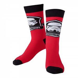 [Star Wars: Socks: Storm Trooper Logo (39/42) (Product Image)]