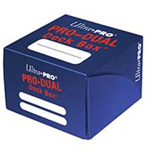 [Ultra Pro: ProDual Deck Box (Blue) (Product Image)]