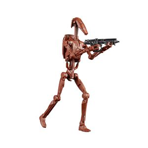 [Star Wars: Attack Of The Clones: Black Series Action Figure: Battle Droid (Product Image)]