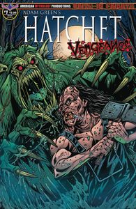 [Hatchet: Vengeance #1 (Calzada Faceoff Main Cover) (Product Image)]