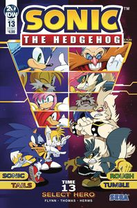 [Sonic The Hedgehog #13 (Cover A Thomas) (Product Image)]