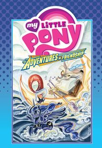[My Little Pony: Adventures In Friendship: Volume 4 (Hardcover) (Product Image)]