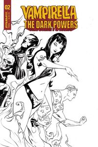 [Vampirella: Dark Powers #2 (Lee B&W Variant) (Product Image)]