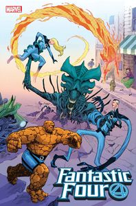 [Fantastic Four #28 (Cassara Marvel Vs Alien Variant Emp) (Product Image)]