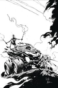[Dark Nights: Death Metal #2 (Capullo Black & White Variant) (Product Image)]