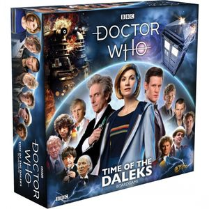 [Doctor Who: Time Of The Daleks Boardgame: 13th Doctor Core Set (Product Image)]