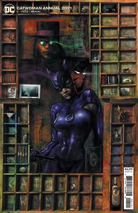 [Catwoman: 2021 Annual #1 (Liam Sharp Cardstock Variant) (Product Image)]