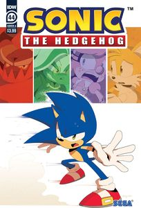 [Sonic The Hedgehog #44 (Cover A Dutriex) (Product Image)]
