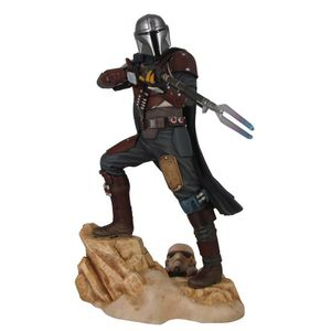 [Star Wars: The Mandalorian: Premier Collection Statue: The Mandalorian MK1 (Product Image)]
