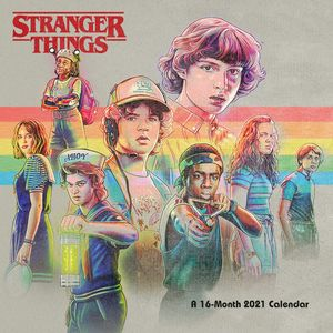[Stranger Things: 2021 Square Calendar (Product Image)]