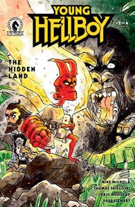 [Young Hellboy: The Hidden Land #2 (Cover B Aragno) (Product Image)]