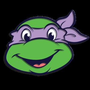 [Teenage Mutant Ninja Turtles: Enamel Pin Badge: Donatello (Product Image)]