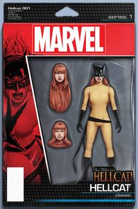 [Patsy Walker Aka Hellcat #1 (Christopher Action Figure Variant) (Product Image)]