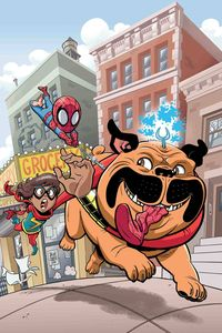 [Marvel Superhero Adventures: Ms Marvel: Teleporting Dog #1 (Product Image)]