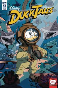 [DuckTales #9 (Cover B Ghiglione) (Product Image)]