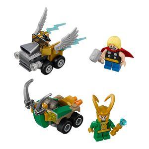 [LEGO: Mighty Micros: Thor Vs Loki (Product Image)]