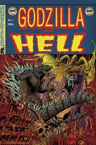 [Godzilla: In Hell #1 (EC Subscription Variant) (Product Image)]
