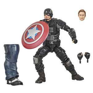 [Avengers: Marvel Legends Action Figure: Video Game Captain America (Product Image)]