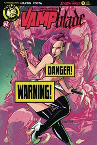 [Vampblade: Season 3 #5 (Cover D Kintz Risque) (Product Image)]
