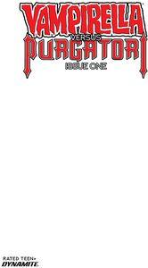[Vampirella Vs Purgatori #1 (Cover F Blank Authentix) (Product Image)]