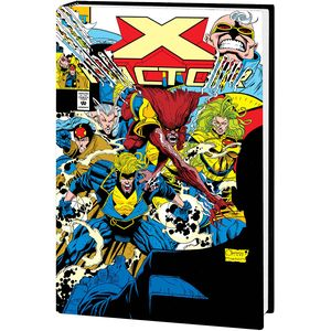 [X-Factor By Peter David: Omnibus: Volume 1 (Quesada DM Variant Hardcover) (Product Image)]