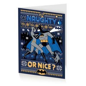 [Batman: Christmas Card: Naughty Or Nice? (Product Image)]